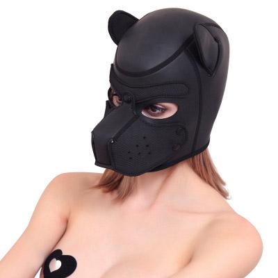 ネオプレンドッグフフェイスマスク