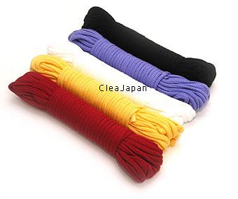 SM拘束用綿ロープ 中(16m)